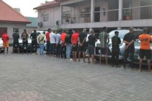 20 suspected Yahoo Boys & internet fraudsters arrested in Imo, phones, laptops, exotic cars recovered (photos)