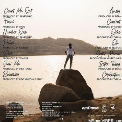 (ALBUM ARTWORK + TRACKLIST) : Joeboy – Somewhere Between Beauty and Magic