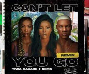 Stefflon Don ft. Rema & Tiwa Savage – Cant Let You Go (Remix)
