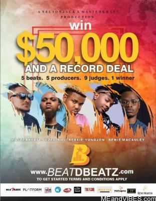 ,000 Up For Grabs If You Can Sing Or Rap With BeatDBeatz