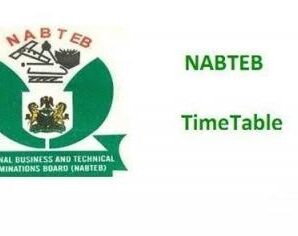 2021 Nabteb Timetable (Official) May/June NBC/NTC (14th June – 9th July 2021)