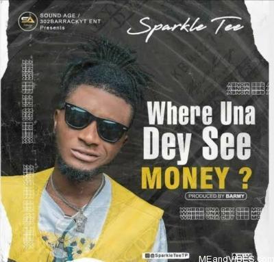 Sparkle Tee – Where Una Dey See Money