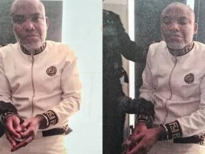 Nnamdi Kanu Rearrested, Brought Back To Nigeria To Face Trial & Sentence on Sunday