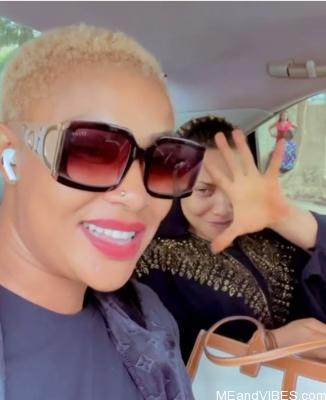 Actress, Tonto Dikeh and Angela Okorie passionately sings Ric Hassani's 'Thunder fire you' weeks after messy breakup with, Prince Kpokpogri (video)
